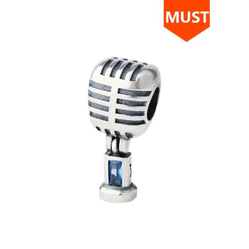 charm pandora microfono