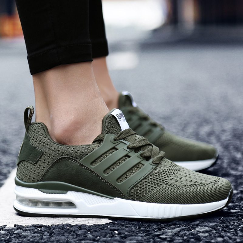 Damyuan Running Shoes Mesh Breathable Walking Shoes For Men Summer Casual Comfortable Non-slip Wear-resistant Wome Sneakers