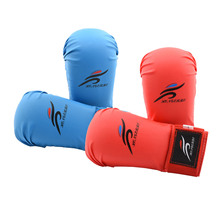 Adults Kids Karate Gloves Children Taekwondo Protector Pads Boxing Gloves Kickboxing Muay Thai Sanda MMA Training Equipments