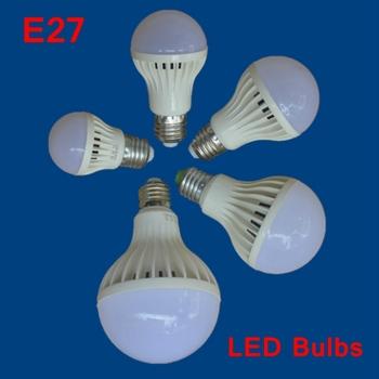 3 sztuk partia E27 żarówki LED energooszczędne żarówki E27 żarówki śrubowe żarówki LED żarówki 220V LED żarówki whosale tanie i dobre opinie E27 Bulbs