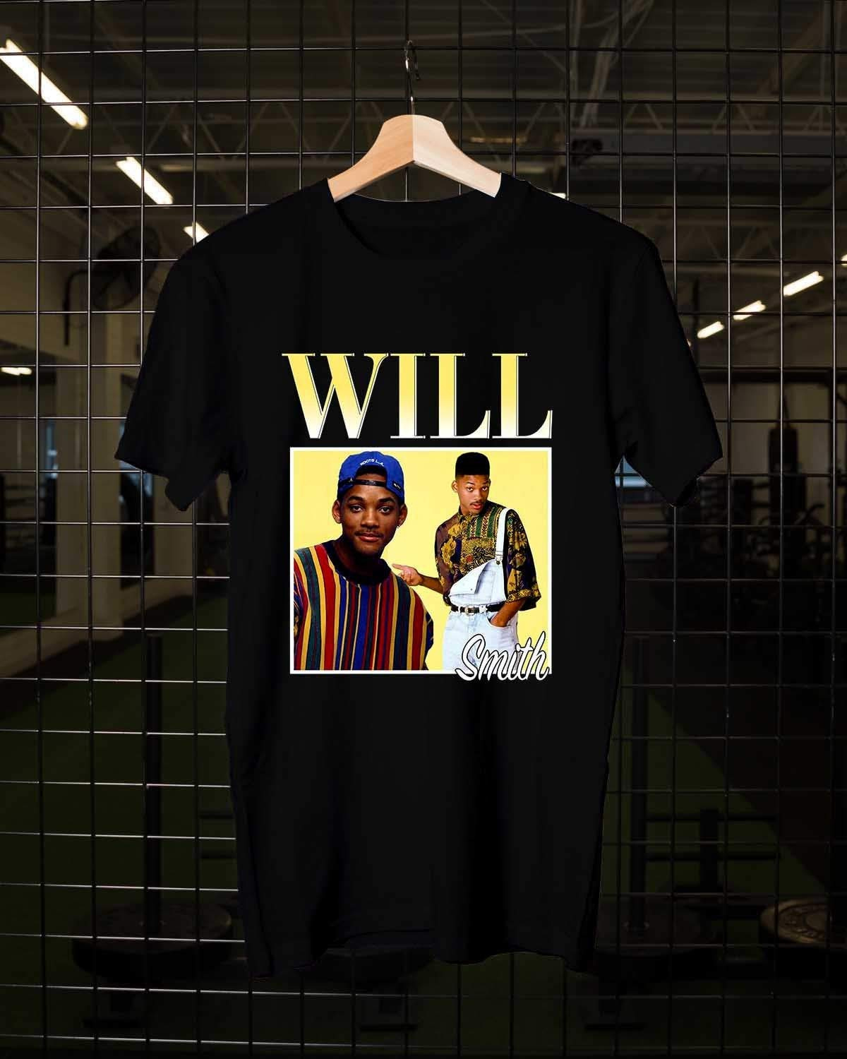 Will Smith The Fresh Prince of Bel Air, Actor, T Shirt, Unisex Adult Clothing Size S-3XL