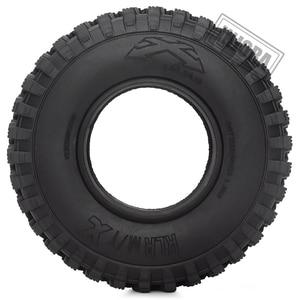 """Image 3 - 4 pièces 1.9 """"caoutchouc Voodoo KLR pneus de roue 105*35mm pour 1:10 RC chenille axiale SCX10 D90 TF2 MST Tamiya"""