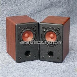 Image 1 - KYYSLB 10 20W 4 8 Ohm 3 pouces gamme complète haut parleur Hifi AS 3Q 1 3 pouces amplificateur de puissance haut parleur passif Grain de bois noir une paire