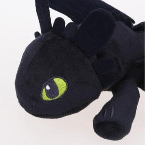 Image 4 - 25cm nuit fureur en peluche comment former votre Dragon sans dents jouets en peluche doux coton animaux en peluche poupées pour enfants enfants cadeaux