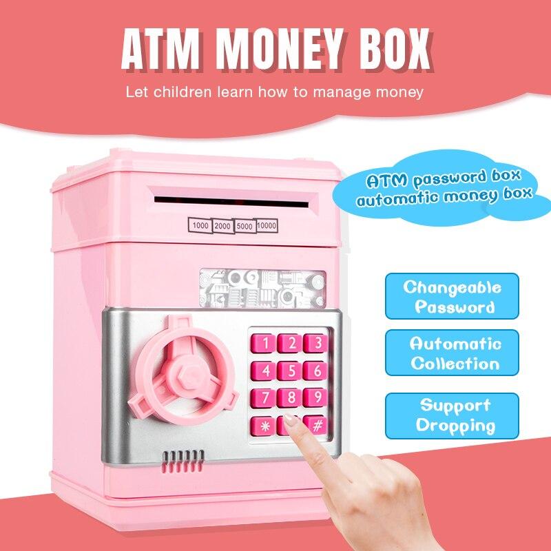 Personalised Engraved Baby Money Box Saving Bank Box Baby Name Gift