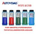 VXDIAG VCX NANO для GM/OPEL  Toyota для VW 5054  volvo для ford  mazda  USB  Wi-Fi  диагностический инструмент для программирования версии