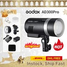 Godox AD300Pro TTL Pocket Flash Kit for Canon Nikon DSLR photography studio Accessories youtube live