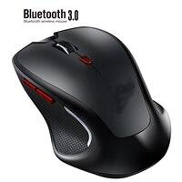 Mouse Wireless silenzioso SeenDa Bluetooth3.0 6d Mouse da gioco 2400dpi ergonomia Mouse ottici per PC portatile Gamer