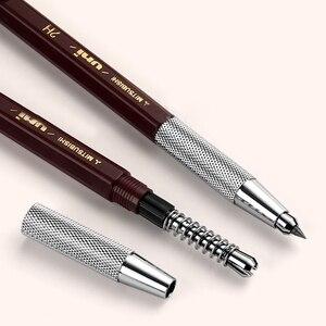 Image 2 - ユニ自動鉛筆2.0ミリメートル金属ペン保持MH 500建築デザイン漫画の描画エンジニアリングペン