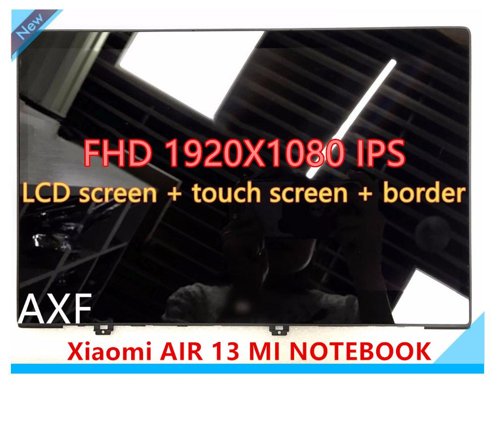 "13.3"" for XIAOMI MI NOTEBOOK AIR 13 LQ133M1JW15 laptop screen IPS LED LCD panel display MATRIX MONITOR FHD IPS EDP 30 PIN Glass"