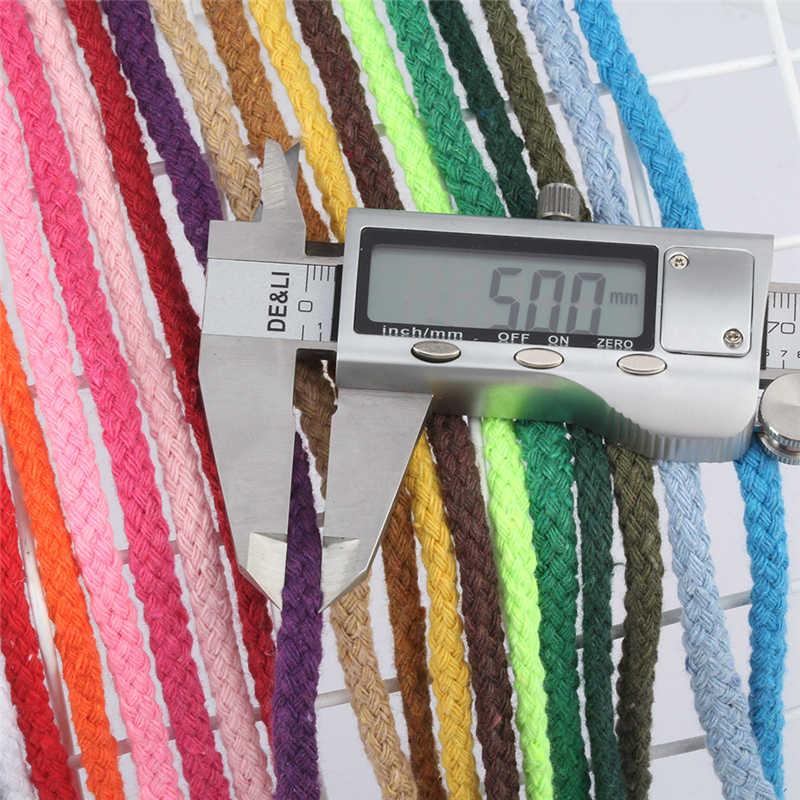 5mm torcido corda eco-amigável 100% fio de algodão alta tenacidade diy artesanato tecido corda casa têxtil artesanato decoração para casa