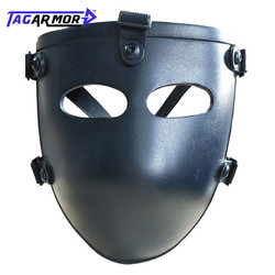 Ballistischen Gesicht Maske Kugelsichere Visier NIJ Level IIIA 3A Aramid Kugelsichere Taktische Maske NIJ Bewertet Ballistischen Gesicht Abdeckung