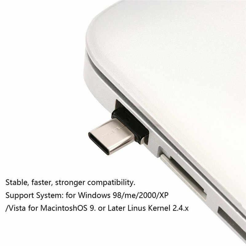 Adaptador tipo C convertidor multifunción OTG interfaz USB a tipo C interfaz de microtransferencia para tabletas de teléfonos Android