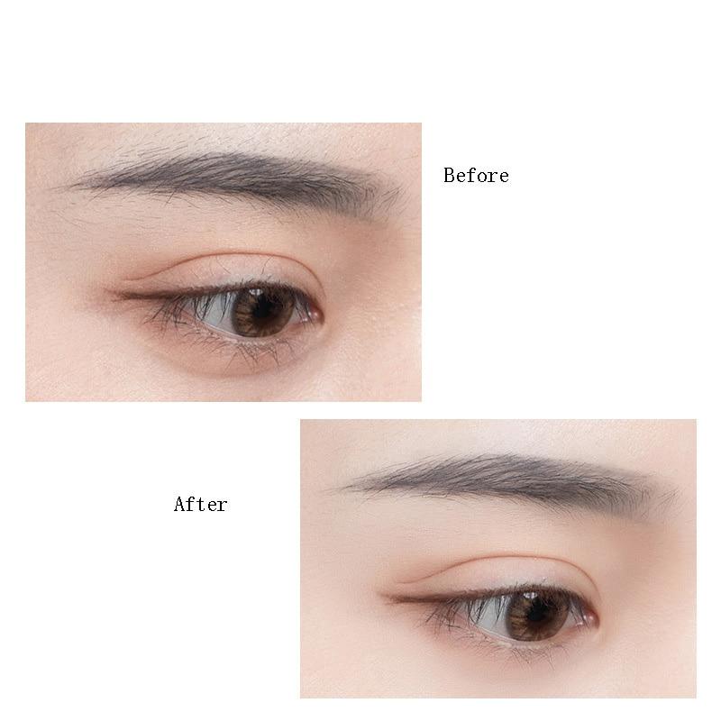 3Pcs Eyebrow Folding Eyebrow Trimmers Safety Scraping Eyebrow Razor Beauty Dermaplaning Tool Eyebrow Scissors