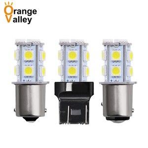 1Pcs Big Promotion Car Auto Light T20 W21/5W 7443 1156 1157 13 SMD 5050 LED Source Brake Parking Reverse Lamp Bulb 12v