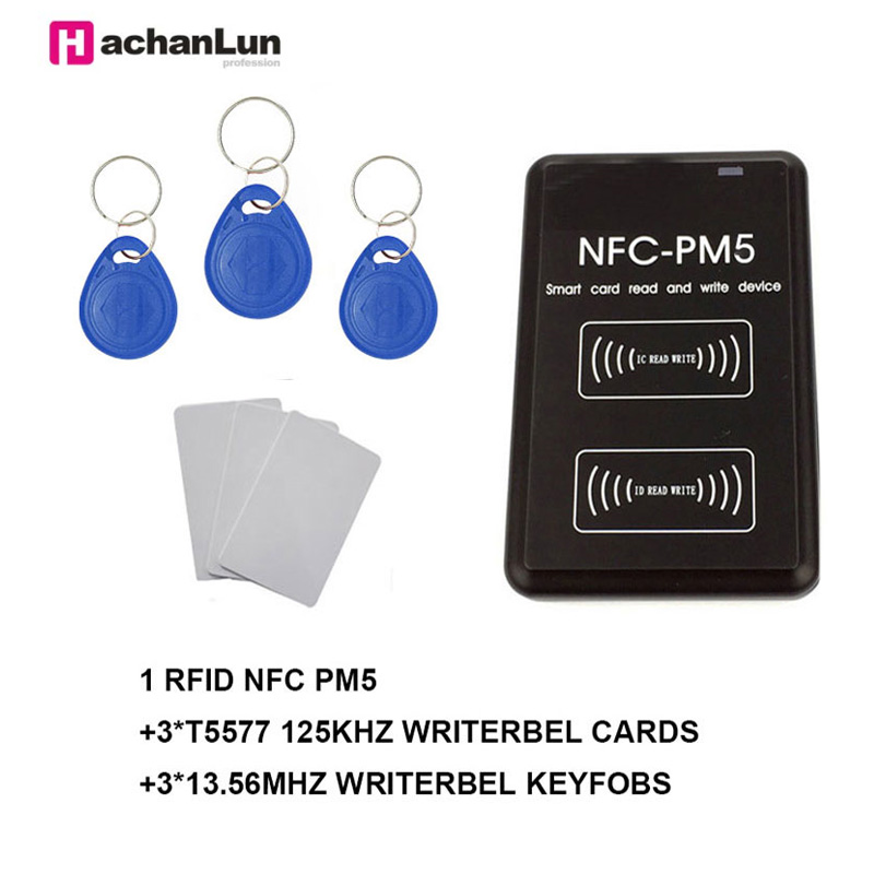 New Version Of NFC-PM5 Smart Chip Encryption Crack Reader RFID125KHZ / 13.56MHZ Access Control Copier / Card Reader / Duplicator