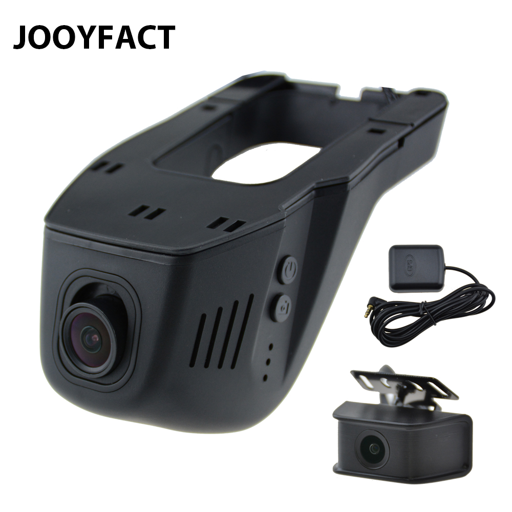 JOOYFACT A9 Dual Lens 1080P Car DVR Registrator Dash Cam GPS Logger Camera Camcorder Night Vision Novatek 96675 Sony IMX307 WiFi 1