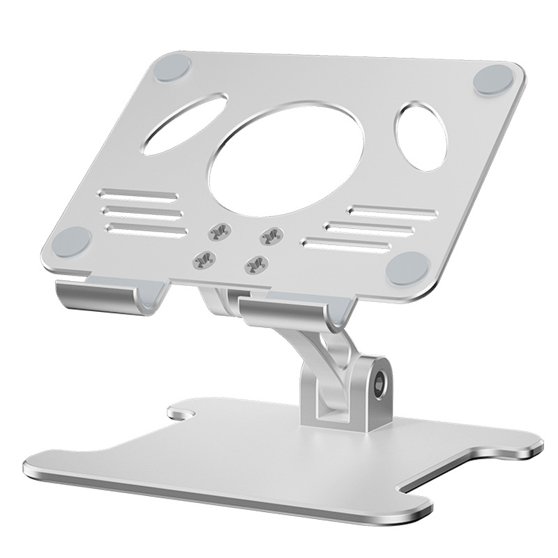 Aluminum Desktop Tablet Stand Dual Axis Design Height/Angle Adjustable Smartphone Holder Tablets Drawing Stand for iPhone iPad