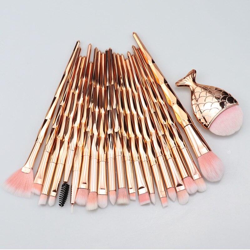 SinSo Makeup Brushes Set 1-21pcs Professional Unicorn Makeup Brush Kit Foundation Eyeshadow Blush Contour Make Up Brushes Tools
