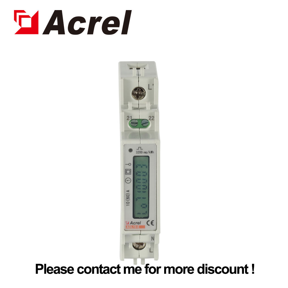 Acrel DDS1352 single phase din rail meter for smart home energy image