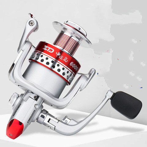 spinning reel fishing esquerda direita intercambiaveis distancia