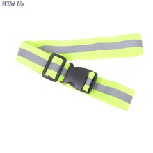 Cinturón de seguridad reflectante de alta visibilidad para correr, trotar, caminar, ciclismo, suministros 12cm X 8cm X 5cm (4,72 pulgadas X 3,15 pulgadas X 1,97 pulgadas) pieza