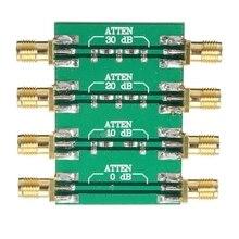 DC 4.0GHz RF Fixed Attenuator 23dBm 200mW with SMA double female head 0dB 10dB 20dB 30dB