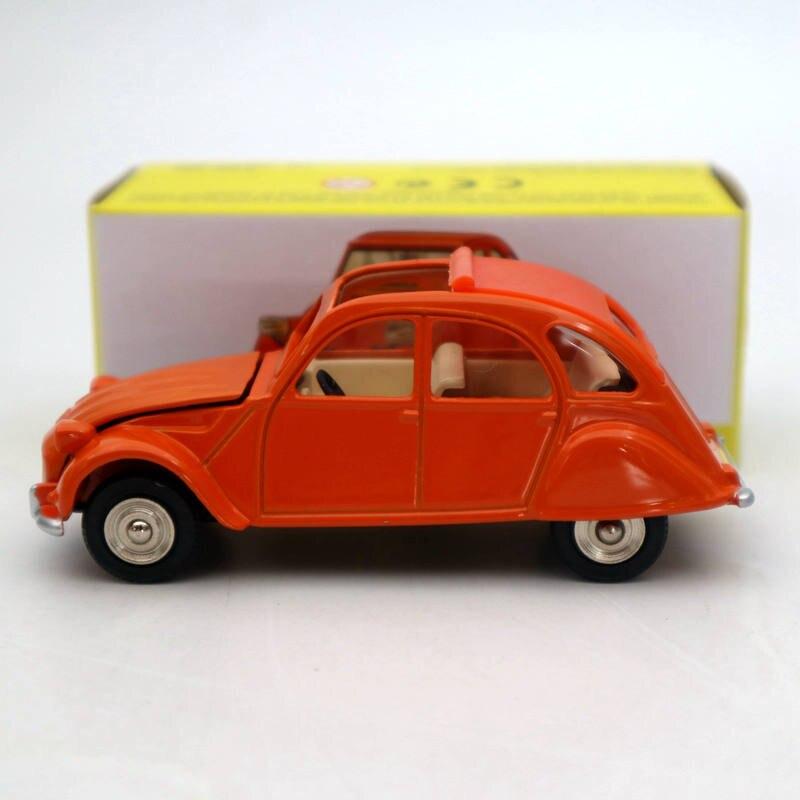 Atlas 1:43 Dinky Toys 011500 2CV Citroen Diecast Auto Car Models Collection