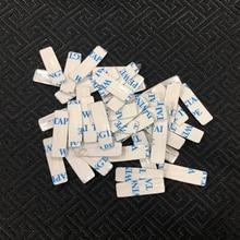 CHKJ 2 шт./лот для Chrysler Автомобильная эмблема Insignia 39*8 мм алюминиевая DIY Металлическая Наклейка Автомобильные аксессуары для ключей логотип