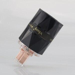 Image 4 - Viborg VE503 + VF503 Transparent 99.99% pur cuivre EUR Schuko Hifi audio cordon dalimentation câble fiche dalimentation IEC femelle connecteur