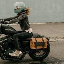 Motorcycle Side Bag Saddle Bag Locomotive Bag Side Bag Bilateral Helmet Bag Multi-Function Travel Riding Bag Motorcycle Riding