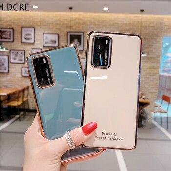 Перейти на Алиэкспресс и купить Чехол для Huawei Honor 30, мягкий силиконовый чехол из ТПУ, защитный чехол для Huawei Honor 30, чехол для Huawei Honor 30 Pro