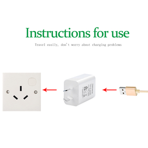 Image 4 - AU Adapter Travel Wall Converter Socket Australia New Zealand Argentina Power Plug usb Charger For Mobile Phone  5V1A 5V2A