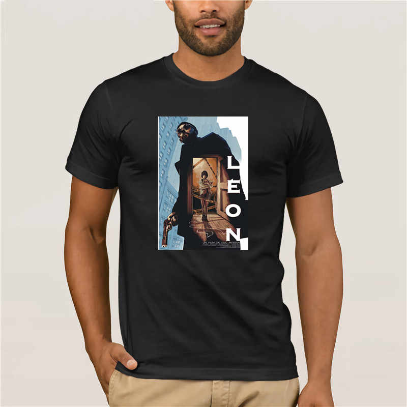 2019 CL sico ฟรังค์ S Pel cula El Profesional Le N Mathilda impreso camiseta hombres Harajuku GR แฟชั่น T เสื้อผ้าฝ้าย 100%