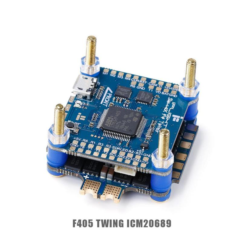 IFlight SucceX F4 V2.1 TwinG FC /SucceX 50A 2-6s BLHeli 32 Dshot1200 4-in-1 ESC Flight Tower System With Barometer For FPV Drone