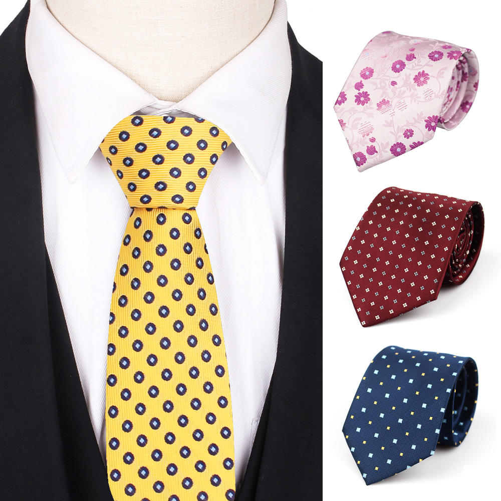 Classic Men Neck Ties Jacquard Women Necktie For Men Women Girls Boys Suits Tie Slim Male Necktie For Wedding Business Gravatas