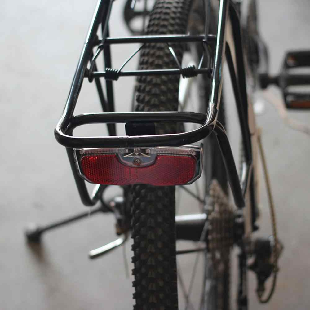 BIKE CYCLE BICYCLE REAR TAIL LIGHT LED FLASHING FOR LUGGAGE CARRIER RACK TOOL