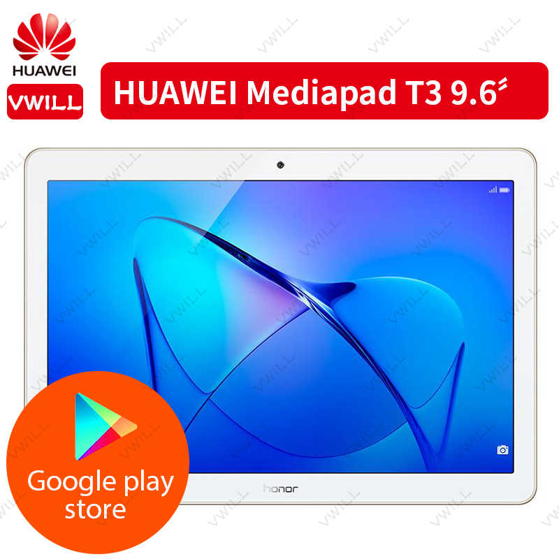 הגלובלי ROM המקורי HUAWEI MediaPad T3 10 אנדרואיד 7.0 WIFI לשחק Tablet 2 9.6 אינץ מחשב EMUI 5.1 SnapDragon 425 quad Core