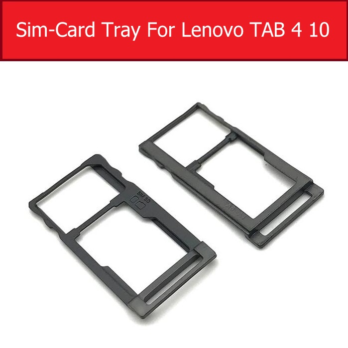 Sim Card Tray Holder For Lenovo TAB 4 10 TB-X304F TB-X304N TB-X304L Sim Micro Reader Card Slot Adapters Card Socket Repair Parts