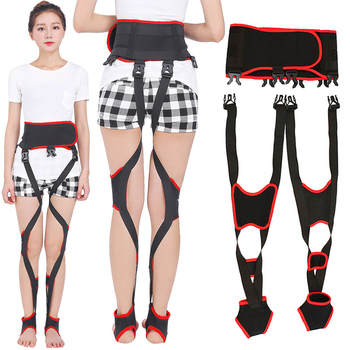 Day Night Dual-use X/O Legs Straightening Belt Leg Posture Corrector Comfortable Adjustable Straps M2