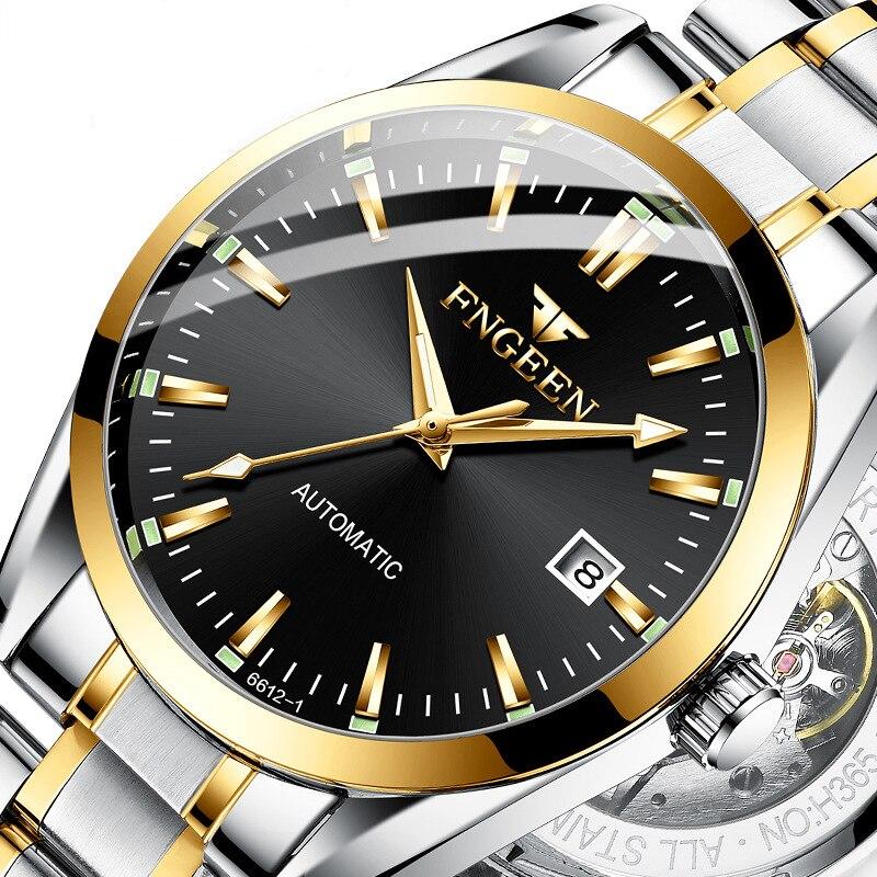 2020 новые деловые автоматические механические наручные часы для мужчин светящиеся часы для жизни водонепроницаемые часы Топ бренд Relogio Masculino|Механические часы| | АлиЭкспресс