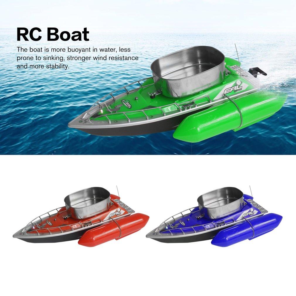 EAL T10 RC Boot Intelligente Draadloze Elektrische Visaas Afstandsbediening Boot Vis Schip Zoeklicht Speelgoed Geschenken Voor Kinderen