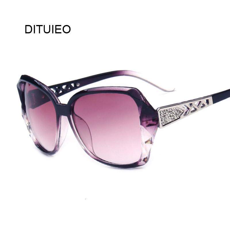Fashion Square Sunglasses Women Luxury Brand Big Purple Sun Glasses Female Mirror Shades Ladies Oculos De Sol Feminino