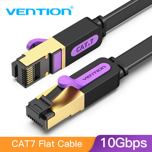 Vention Ethernet Cable RJ 45 Cat7 Lan Cable STP RJ45 Network Cable for Cat6 Compatible Patch Cord Cable for Router Laptop Cat 7(China)