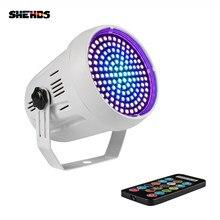SHEHDS-éclairage stroboscopique pour scène, 91 couleurs variées RGB, éclairage à distance pour fête, musique ou Club, mariage, Flash, éclairage de scène KTV, LED et 127