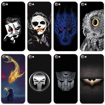 Scenery Rose Painted Phone Cases For Lenovo S90 S90T 5.0 Case Covers Soft TPU Back Cover For Lenovo S90 S 90 Funda Capa image