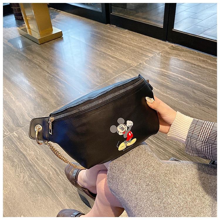 Women Bags 2020 Ladies Waist Packs Pu Leather Fanny Pack Waterproof Ladies Shoulder Bag Lady Chest Phone Pouch Ladies Belt Bag