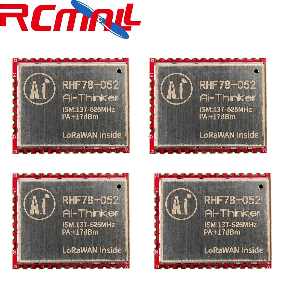 4Pcs/lot SX1278 HZRHF78-052 LoRa Module 433MHz 470MHz LoRaWAN Wifi Transceiver Module 15Km Long Range +17dBm FZ2854