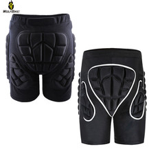 Wolfbike Hockey Snowboard Shorts Soft Hip Butt Brace Protection Protector Motocross Ski Skateboarding Sports Roller