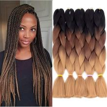 Smart Braid Hair Kanekalon Synthetic Ombre Hair